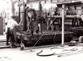 05. Gyártósor bordabetonozás