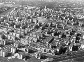 József Attila lakótelep 1970.